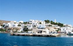 ferry to milos
