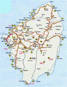 naxos map