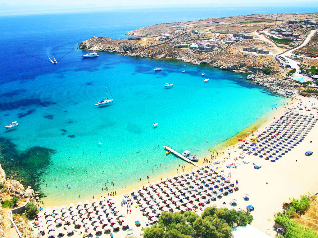 Best Island Beaches For Partying Mykonos St Barts: Vacation In Greece