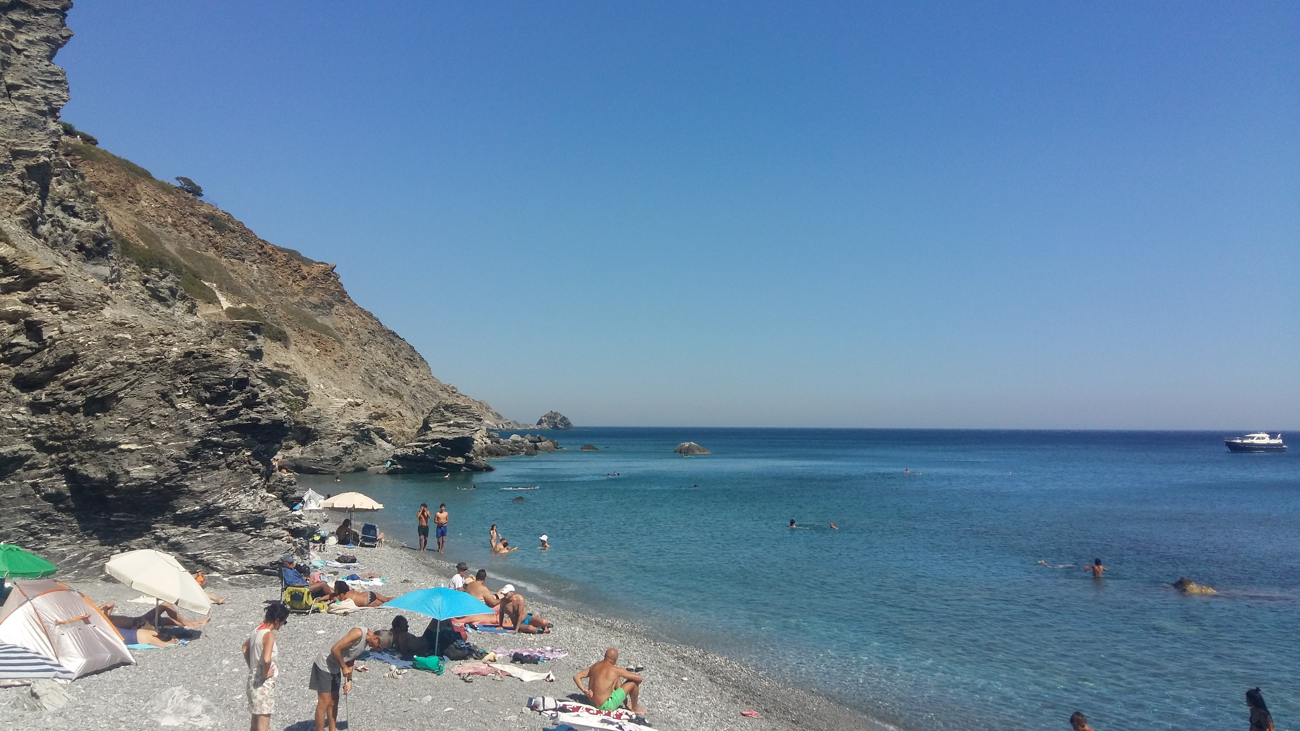 Amorgos Mouros Beach