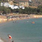 Andros Agios Petros Beach