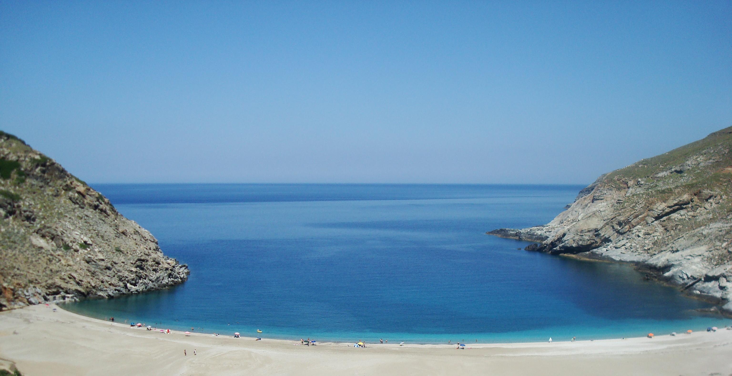 Andros Zorkos Beach