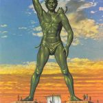 Colossus of Rhodes Greece