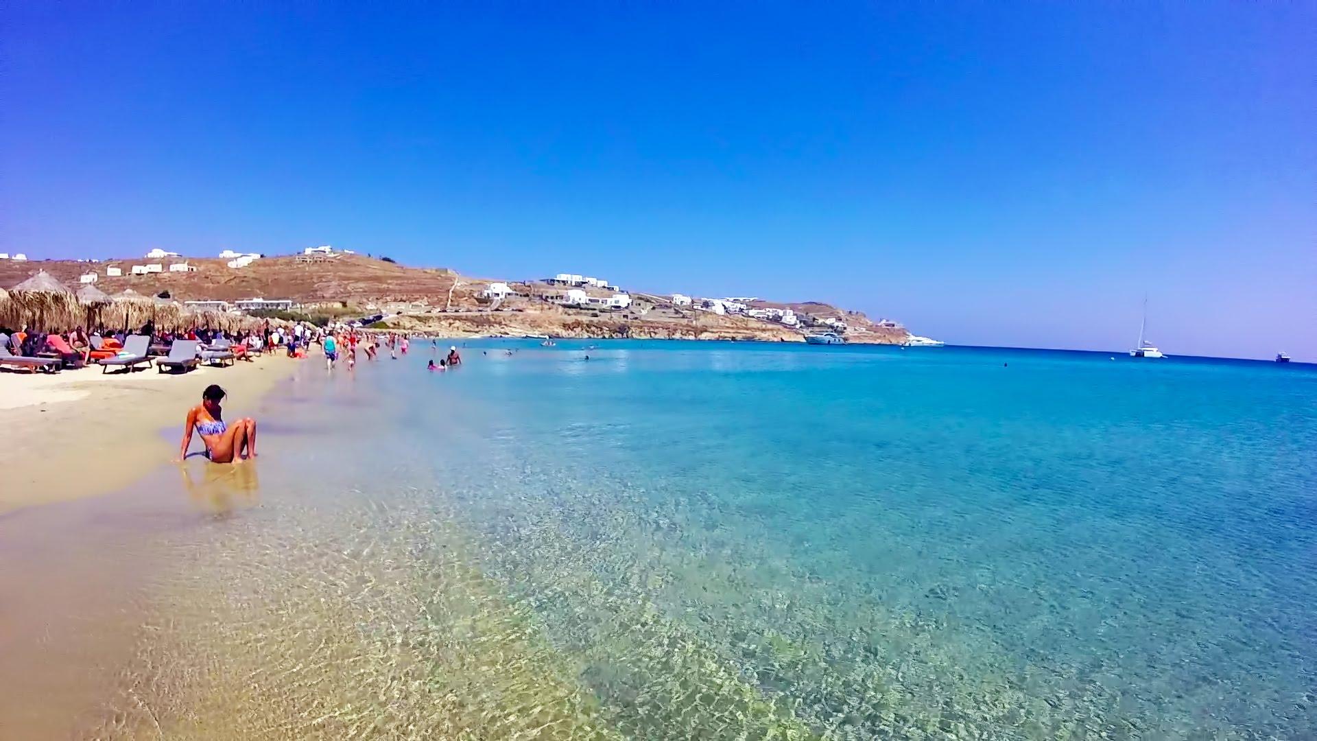 Kalo Livadi Beach Mykonos Videos