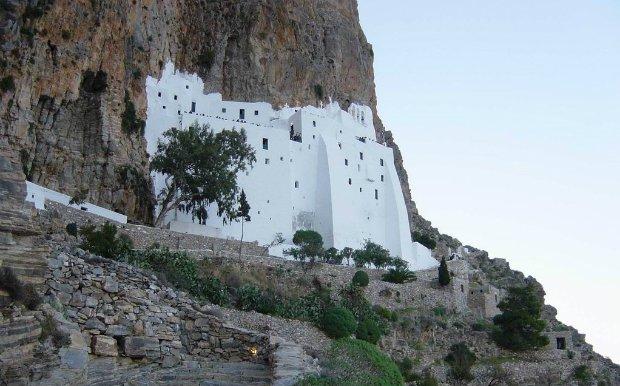 Monastery of Panagia Hozoviotissa Amorgos