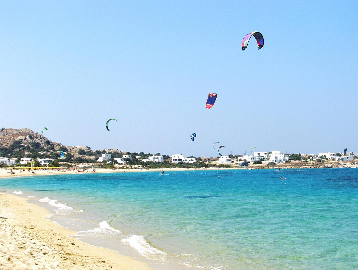 Naxos Mikri Vigla Beach