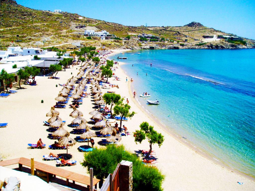 Best Island Beaches For Partying Mykonos St Barts: Paradise Beach Mykonos