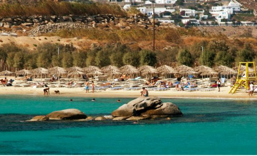 Best Island Beaches For Partying Mykonos St Barts: Paraga Beach Mykonos