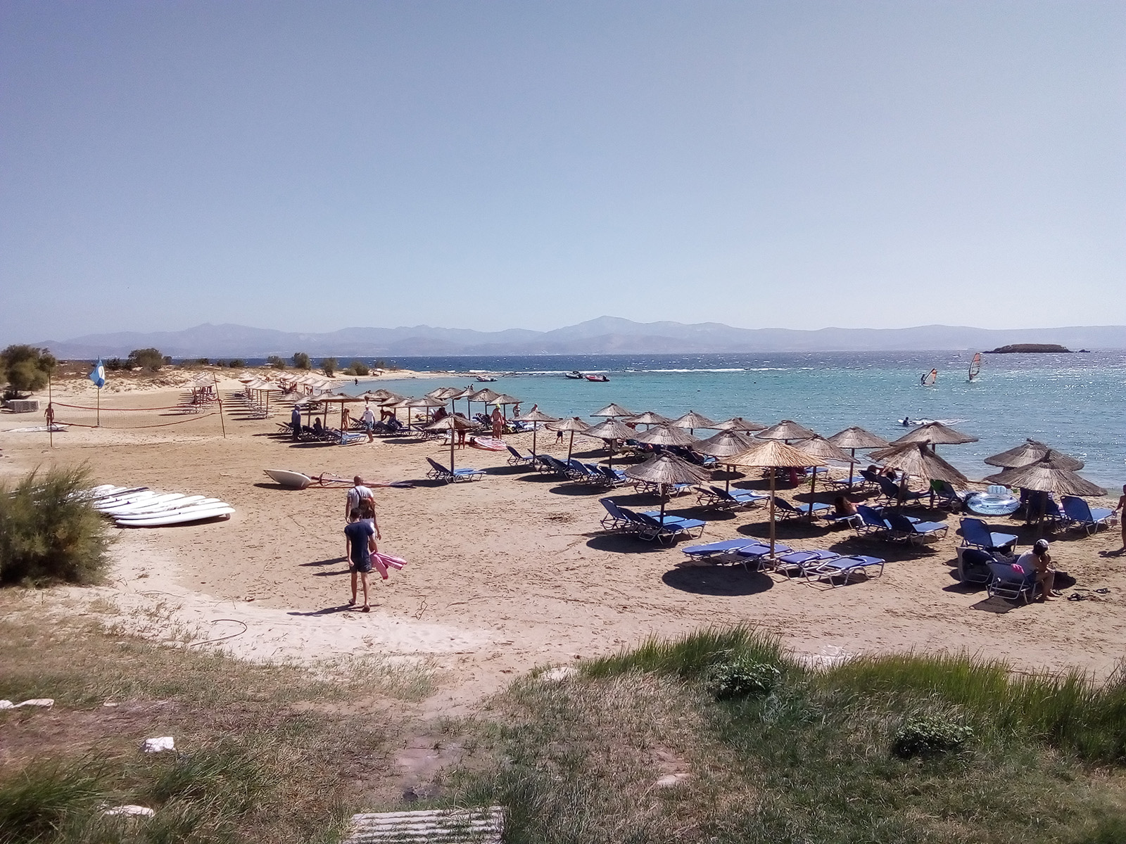 New Golden beach Paros