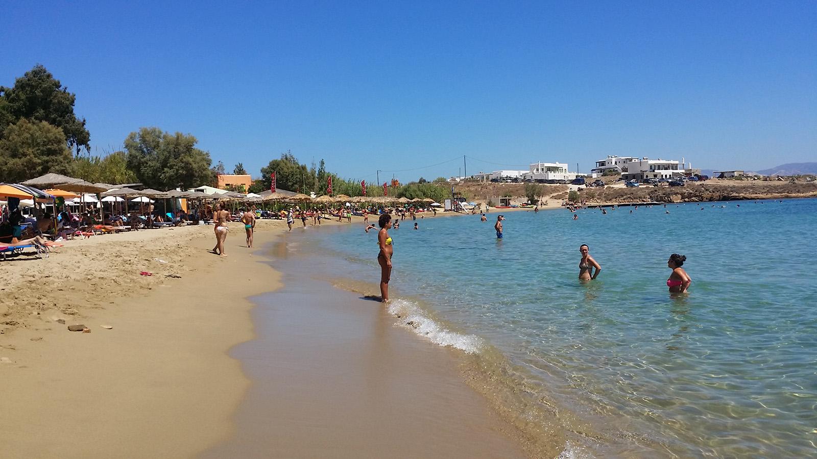 Paros Punda Beach