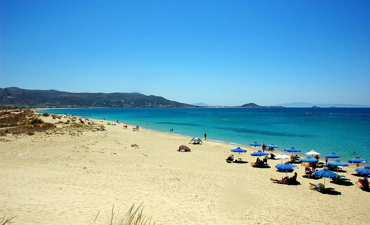 Plaka Beach Naxos Video
