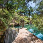 Seven Springs in Rhodes