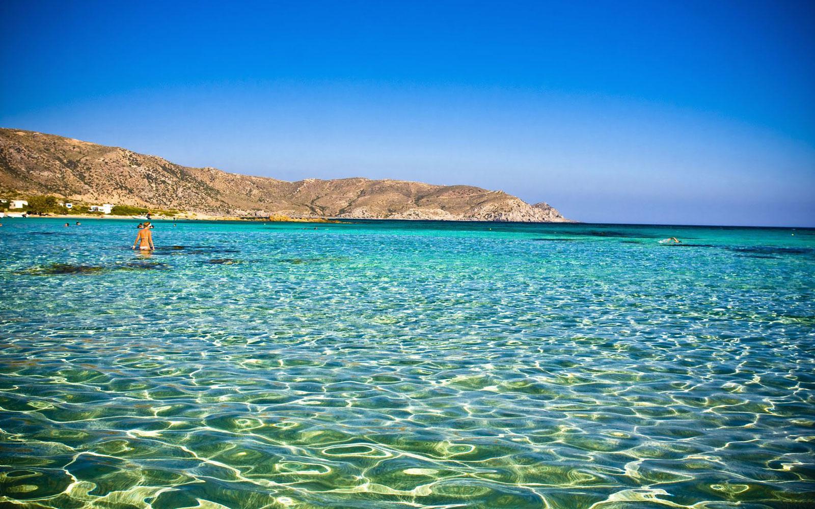 Crete Elafonisi Beach