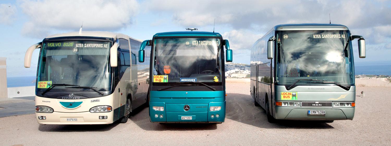 ktel bus Santorini