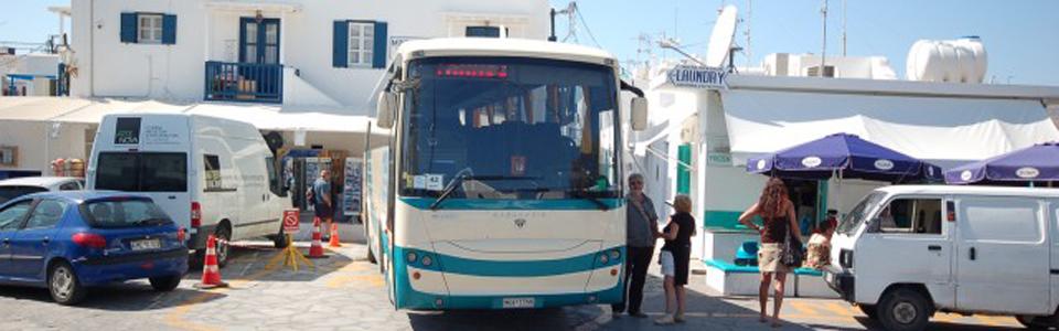 mykonos bus