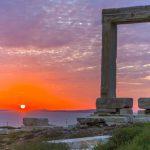 Portara, the flagship trademark of Naxos