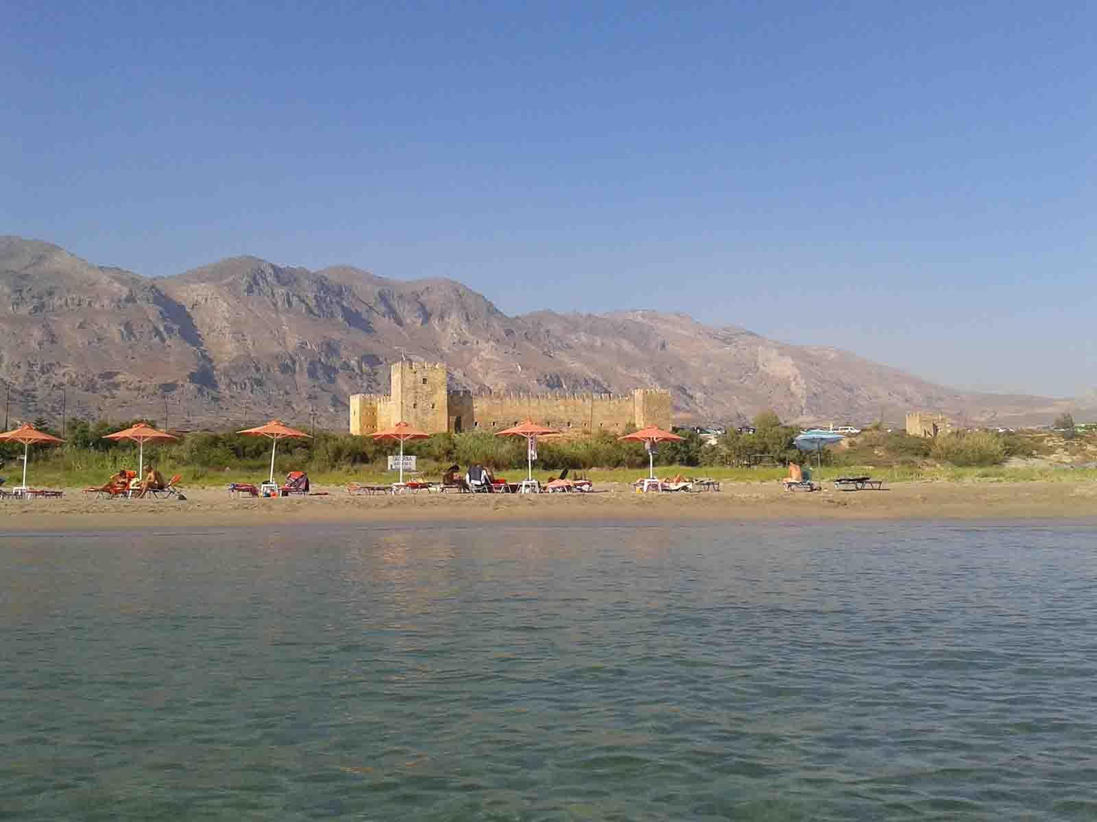 Frangokastello Beach Crete