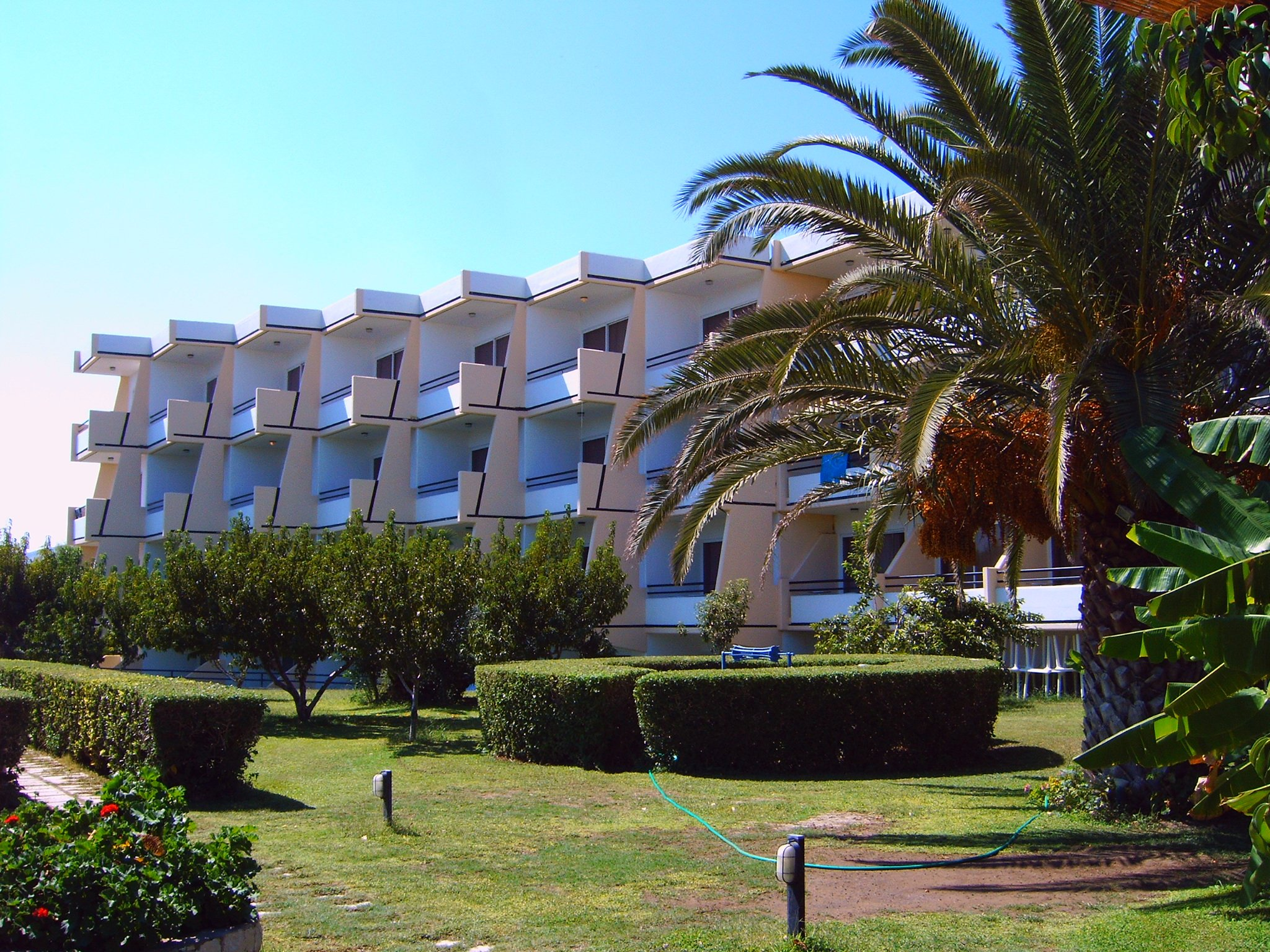 afandou beach hotels
