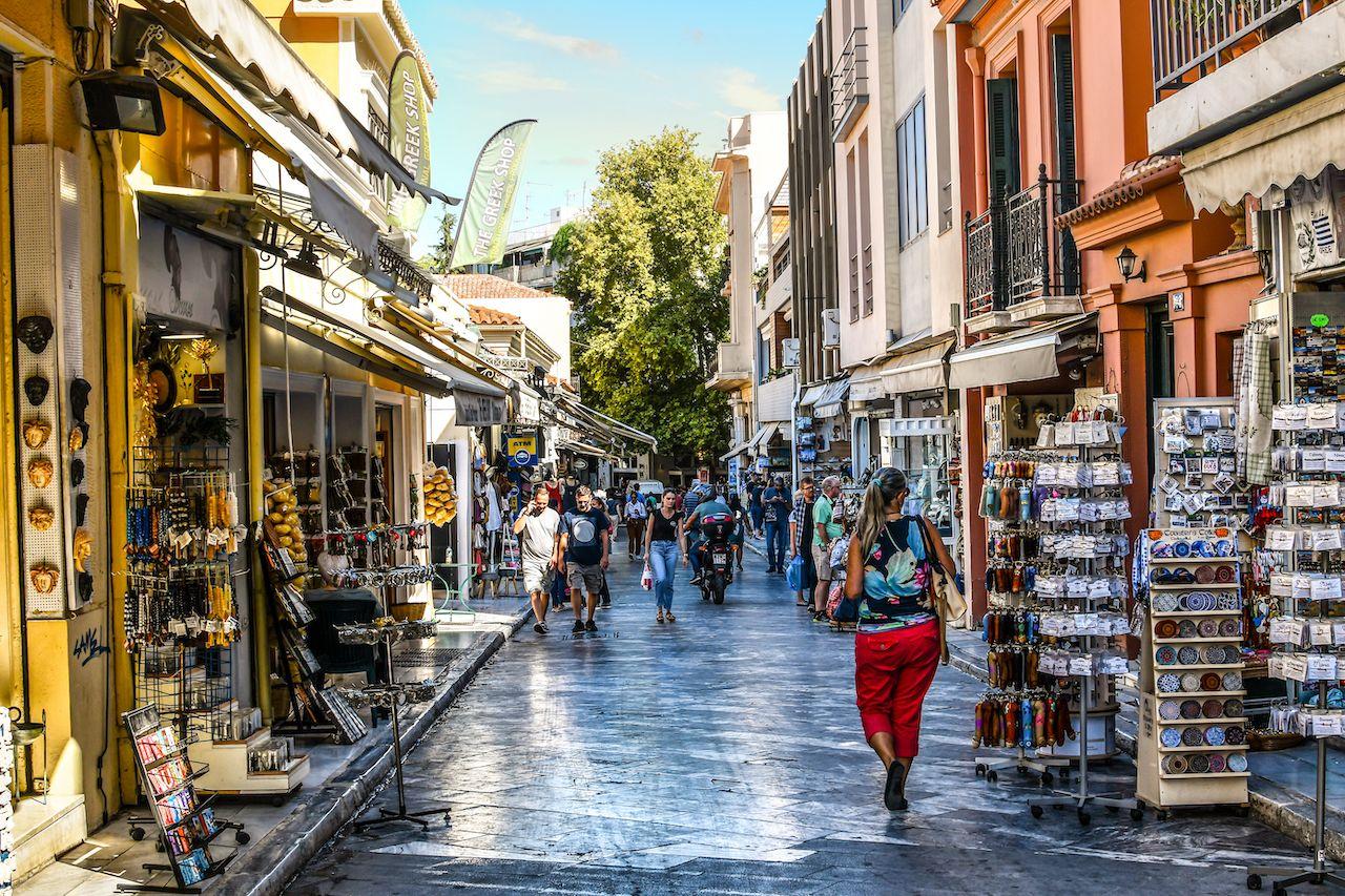 The Plaka Athens Greece