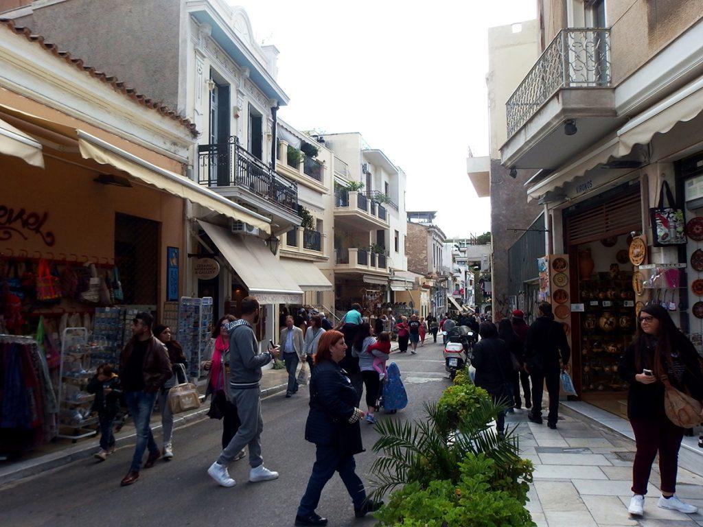 Vyronos Street Athens