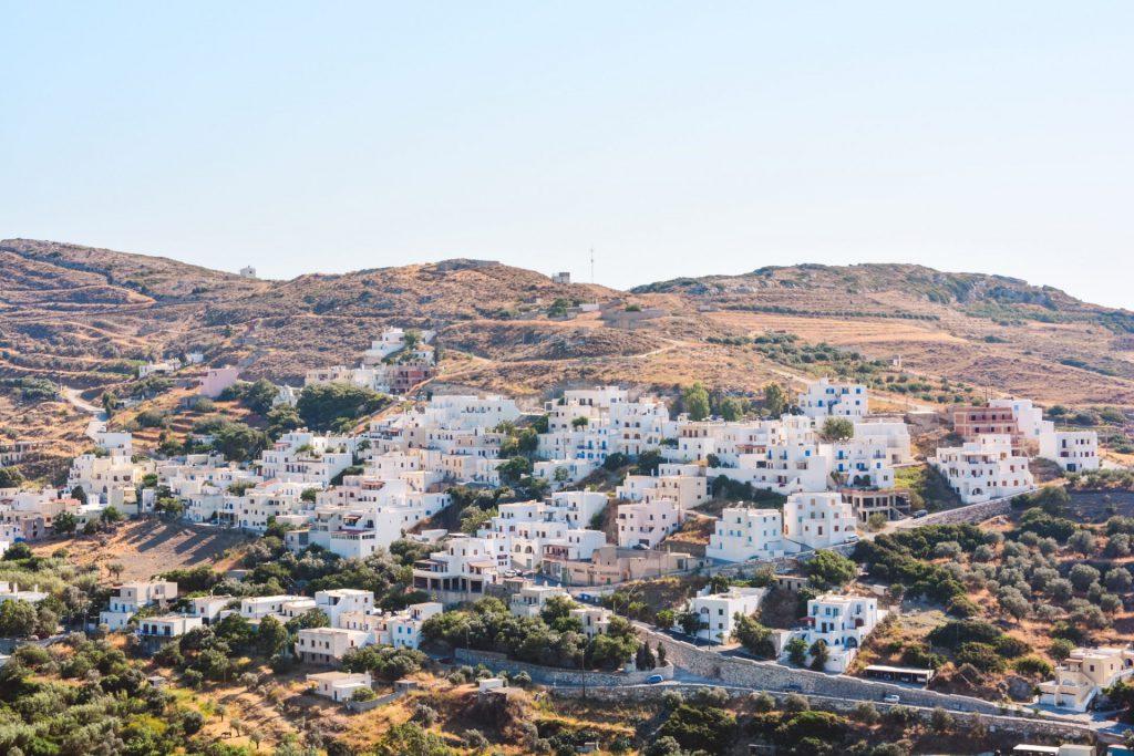 naxos best villages
