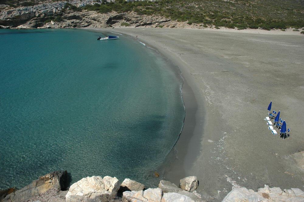 The island of Despotiko Antiparos
