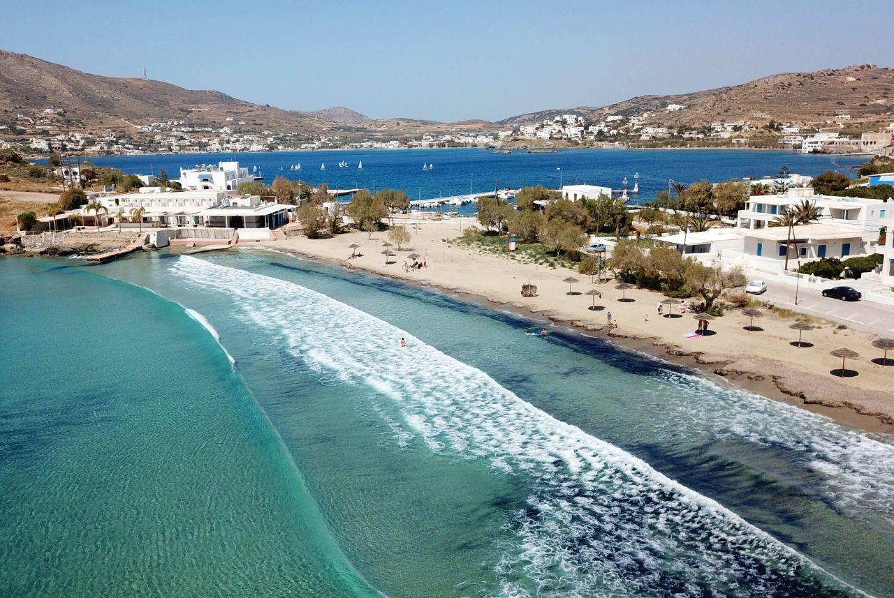 Syros Agathopes Beach