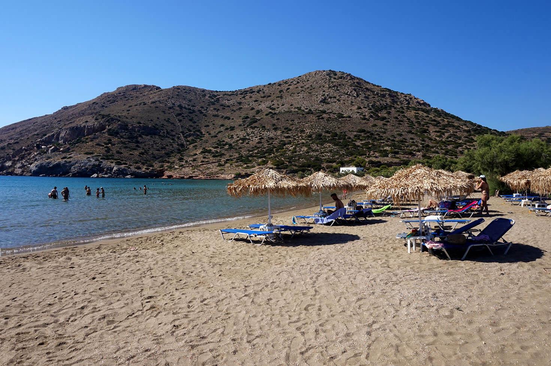 Syros Galissas Beach
