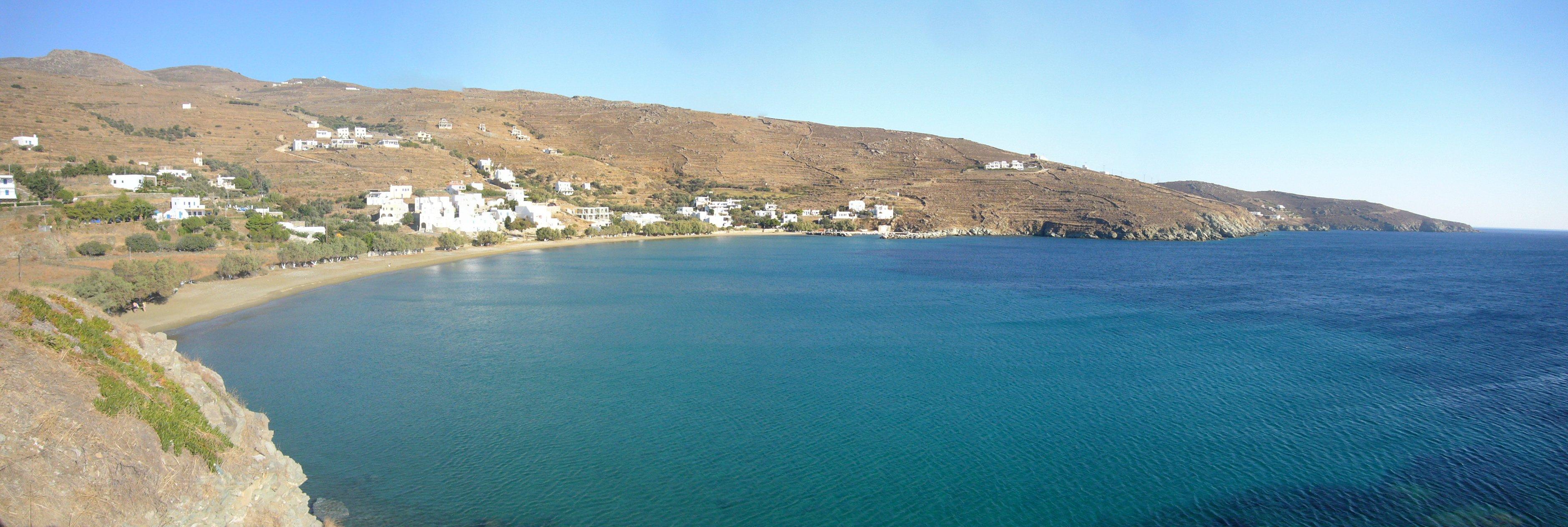 Tinos Agios Romanos Beach
