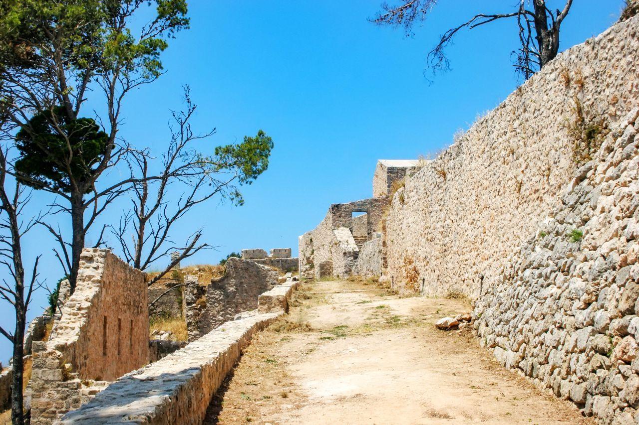 Kefalonia Castle of Saint Georgios