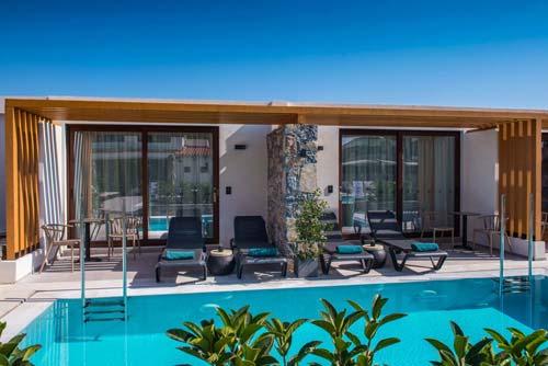 Petousis Hotel & Suites Private Pools