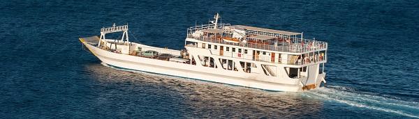 Lefkada ferryboat